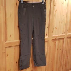 Eddie Bauer Travex Grey Roll Up Active Pants